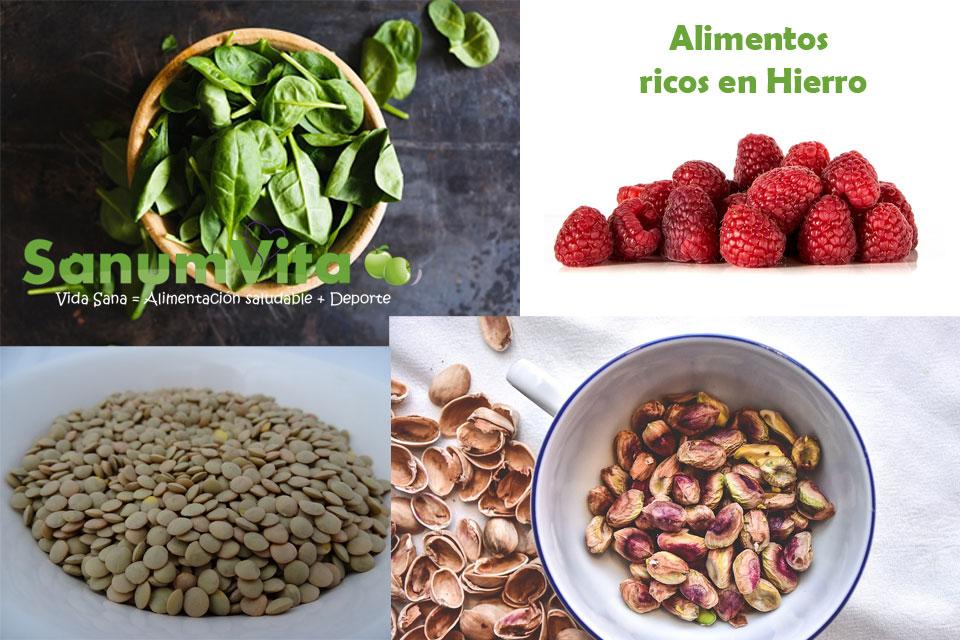 los 7 mejores alimentos ricos en hierro