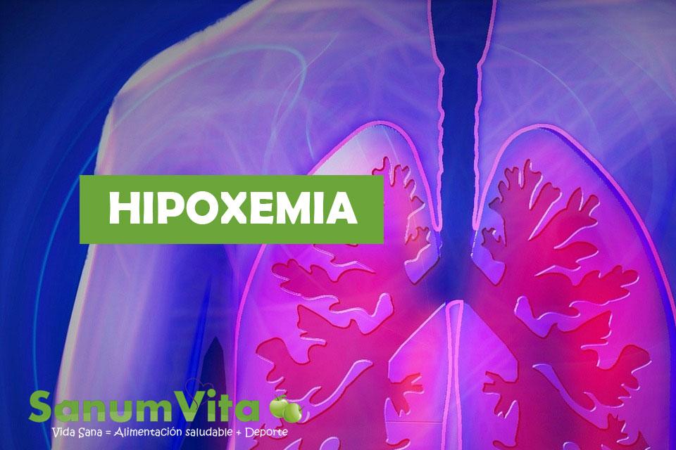 hipoxemia: Causas y que es